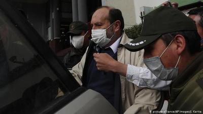 Bolivia: Envían a la cárcel exministro de Salud por supuesta sobrefacturación de respiradores