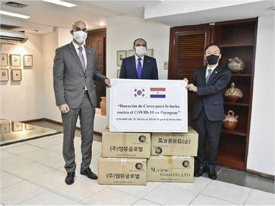 Corea dona más de 22.000 pruebas de detección del Covid-19