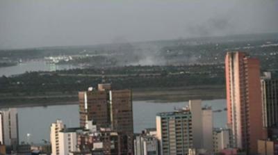 HOY / Detectan nuevos focos de incendio en zona de la Costanera Norte