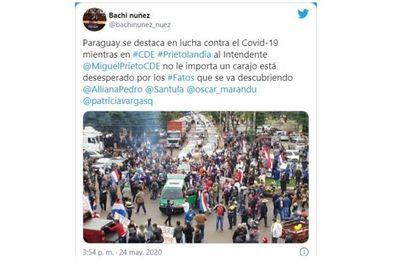 Repudio total a caravana política en CDE; organizadores podrían ser procesados