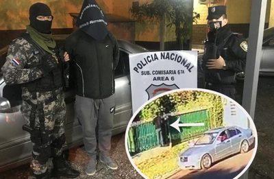 Detienen a joven por hurto de un  lujoso automóvil en Hernandarias – Diario TNPRESS