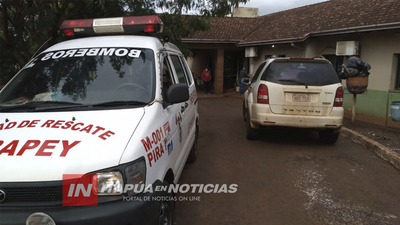 VENDEDOR AMBULANTE LESIONADO TRAS ACCIDENTE SOBRE RUTA 6