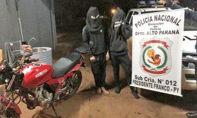 Detienen a dos motochorros que salían a hacer asaltos, violando la cuarentena – Diario TNPRESS
