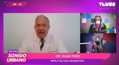 Médico argentino asegura que confundió datos de Perú con Paraguay