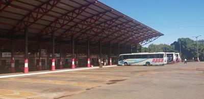 Terminal de ómnibus de Coronel Oviedo habilita viajes con todas las exigencias sanitarias – Prensa 5