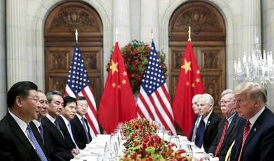 """China advirtió que está """"al borde de una nueva Guerra Fría"""" con Estados Unidos"""