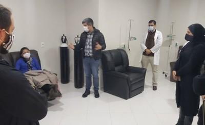 Pabellón Oncológico del Hospital Regional ya realiza quimioterapias