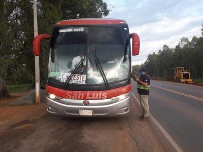 Buses registraron un incremento de pasajeros