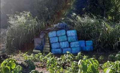 Canindeyú: Decomisan más de 1.000 kilogramos de drogas