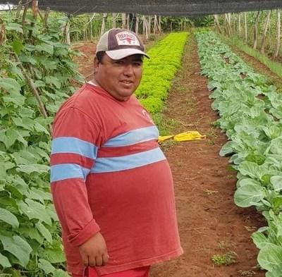 """""""La agricultura no es fácil; se necesita paciencia y valor"""" asegura joven horqueteño"""