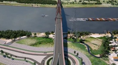 Lanzan concurso para encontrar un nombre al futuro puente Asunción-Chaco'i