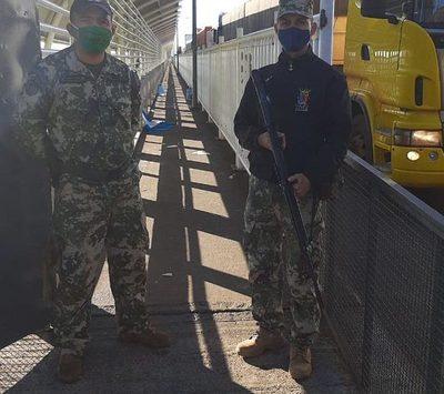 Pasarela del puente de la Amistad permanece libre desde hace días – Diario TNPRESS