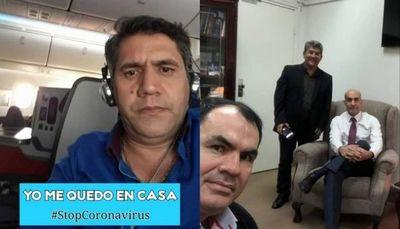 Miguel Culzoni: Papichi Cabrera y Hugo Rodríguez deben estar en cuarentena en Pedro Juan