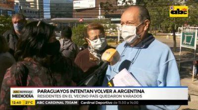 Paraguayos buscan volver a Argentina