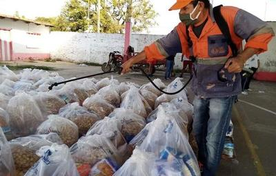 Programa Ñangareko: SEN entregará kits de alimentos a las familias vulnerables