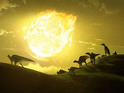 Estudio revela el ángulo letal del asteroide que pudo acabar con dinosaurios