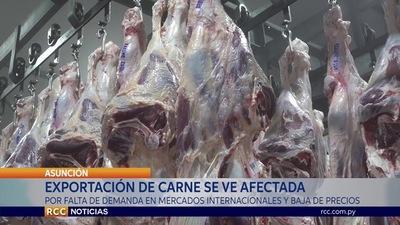 CÁMARA PARAGUAYA DE LA CARNE HABLÓ DE REACTIVACIÓN LENTA DE MERCADOS INTERNACIONALES Y PRECIOS BAJOS