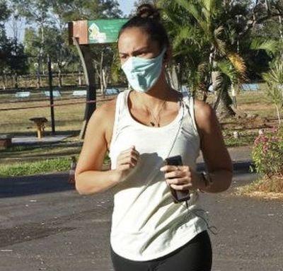 Correr con tapabocas puede afectar el pulmón y llevar a un colapso