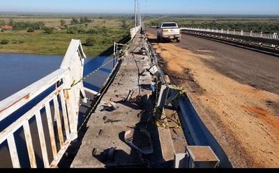 Reparación de puente correrá por cuenta de empresa contratista