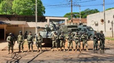 Temen contagio masivo de militares de CDE