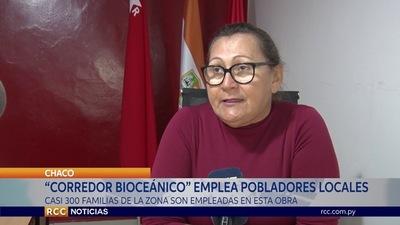 """""""CORREDOR BIOCEÁNICO"""" EMPLEA POBLADORES LOCALES"""
