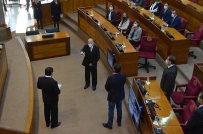 César Diesel asume como ministro de la Corte Suprema de Justicia