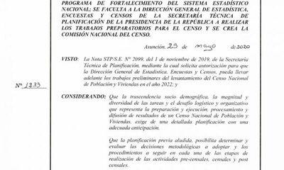 Crean Comisión Nacional del Censo apuntando al 2022