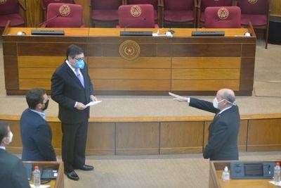 Diésel jura como nuevo ministro y se incorpora al pleno de la Corte