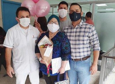 Una minicaravana por vencer al cáncer
