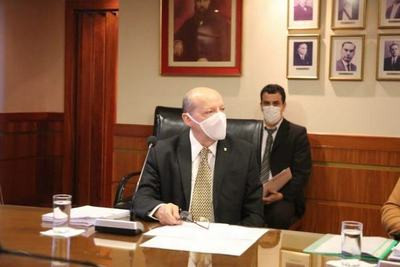 César Diesel asumió funciones como ministro de Corte