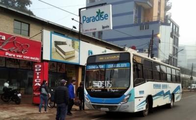 Municipalidad de CDE mantiene los control preventivos en colectivos