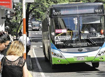 Pasaje: Gobierno pagará 400 millones de guaraníes más en subsidio a transportistas