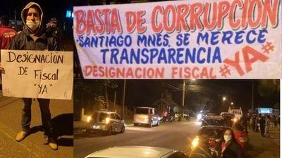 Santiagueños exigieron trasparencia municipal ante indicios de corrupción en el ente