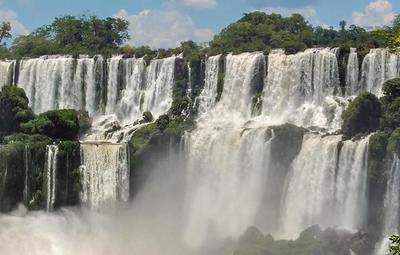 Fin a la histórica sequía en las Cataratas del Iguazú