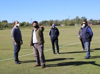 APF verifica campo de entrenamiento de Guaraní