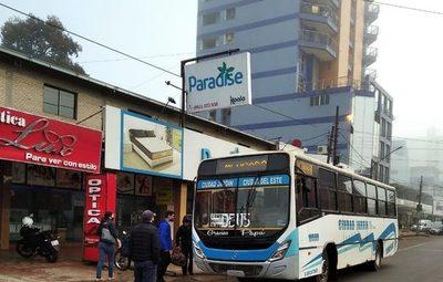 Municipalidad de CDE mantiene el control en los buses para prevenir Covid-19