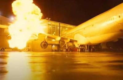Christopher Nolan chocó un avión 747 real para una escena de la película 'Tenet'