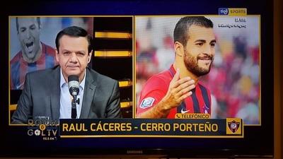 Las expectativas de Raúl Cáceres