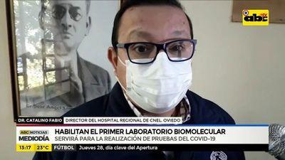 Habilitan primer laboratorio biomolecular en Cnel. Oviedo