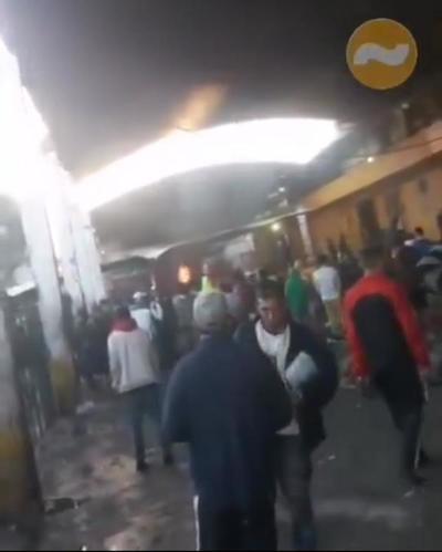 Controlan manifestación en el Penal de Tacumbú