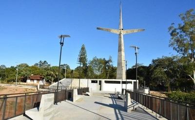 """Misiones cuanta con """"la Cruz mas alta de la región"""""""