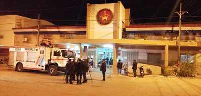 Tensa manifestación de reclusos en el penal de Tacumbú