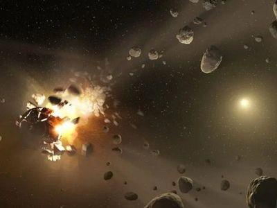 Los asteroides Ryugu y Bennu nacieron de la destrucción de uno mayor