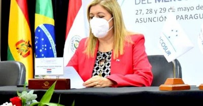 Quiñónez lideró reunión del Mercosur