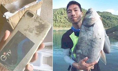 Se le cayó celular al río hace 8 meses ha oikóiti