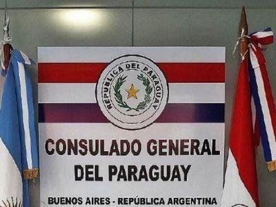 Consulado en Bs. As. cierra por sospechas de Covid-19