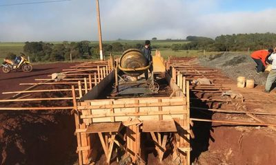Prosiguen trabajos en obras que sacarán del aislamiento a Puerto Irala
