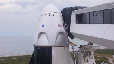 Pospusieron el lanzamiento de la misión espacial de la NASA y Elon Musk para este sábado por las condiciones climáticas