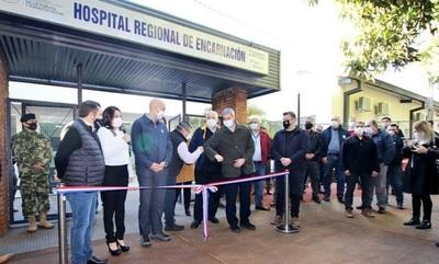 Presidente inauguró mejoras en Hospitales de Itapúa