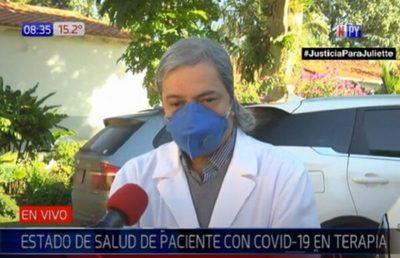 Camionero víctima de Covid-19 está en terapia intensiva